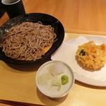 鷹山 - 料理写真:かき揚げせいろ