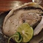70659084 - ジャンボサイズなのに味の濃い牡蠣