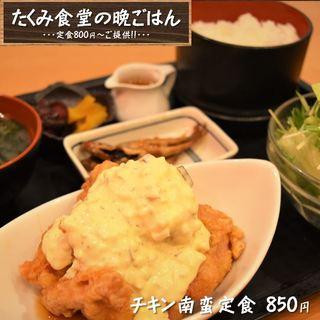 【夜定食やってます!】夜でもしっかりと定食メニュー800円~