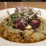 Chartro - 牛サガリ肉のリゾット