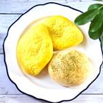あんですマトバ - 季節限定 瀬戸内レモンあんぱん 抹茶あんぱん 閉店間際で割引されての購入。ラッキー☆