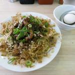 肉汁麺ススム - 肉汁焼きそば・レベル2(肉量165g) 880円