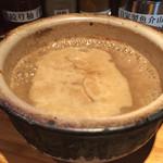 70662083 - 白つけ麺                       つけ汁アップ