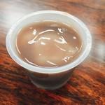 桔梗堂 - 料理写真:冷やし白玉しるこ