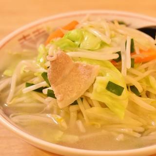 野菜しゃきしゃきのタンメンです!
