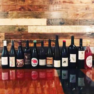 体に優しいナチュラルワイン◎日替わりで10種類をご用意!