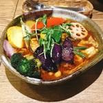 ポニピリカ - 野菜がたっぷり入ったカレー @1,200円