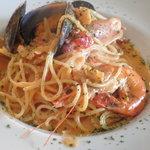 galerie+wine cafe TURM - 魚介のトマトクリーム