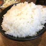 ホドリ - ご飯大盛り