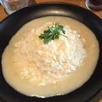 cafe&dining nurikabe - トリュフ香る白いオムライス1,280円