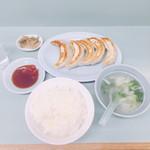 70672439 - 餃子ライス(720円)【平成29年7月28日撮影】