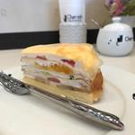 シャ・ノワール - ケーキSET (C★ミルクレープ) ¥600