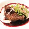 牛フィレ肉のグリル~赤ワインソース~