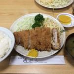 満ぷく - チーズイカツ定食