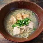 鶏そば屋いしぐふー - 特選鶏そば(麺大盛)