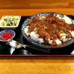 味処あづま - 料理写真:日替わりランチ(カレー)