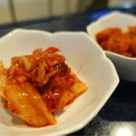 ソウル - 白菜キムチと大根キムチ