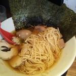 中華そば鷸 - 麺