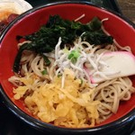 70675299 - まぐろ地魚丼&湘南釜揚げしらす蕎麦セット(みさきまぐろきっぷメニュー)