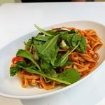 70678242 - イタリア夏野菜とモッツァレラの 冷製トマトパスタ ¥690