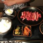 70679503 - 2017/07 中落ちカルビランチ 大(180g)980円(税抜き)