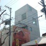 ai cafe 54 - 宮里藍選手の笑顔が目印の建物。