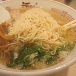 河むら 釧路本店 - 麺はこんなんです