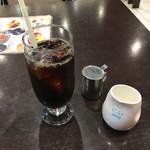 ラ・ポッシェ - 食後のアイスコーヒー
