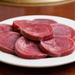 やきにく牛丸  - 料理写真:たん厚切