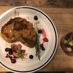 アールケイ ガーデン - 豆乳とかぼちゃのふんわりフレンチトースト