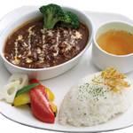 カフェ レルブ - 【ディナー】牛肉と玉葱のハヤシライス