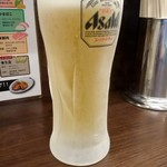 濃厚タンメン三男坊 - 生ビール