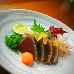 ベイサイドホテル龍宮 - 料理写真:阿南の藁を使った鰹藁焼き