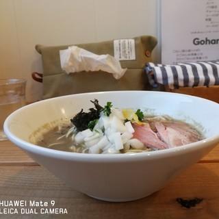 ヌードルズ&サルーン キリヤ - 料理写真:Niboshiらぁ麺¥800