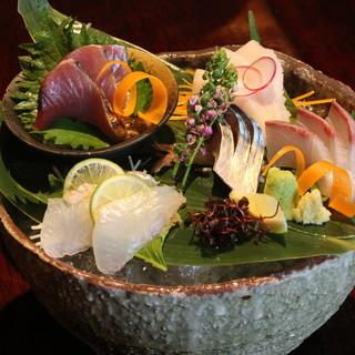 ◇こだわりの鮮魚◇美味い刺身を召し上がれ