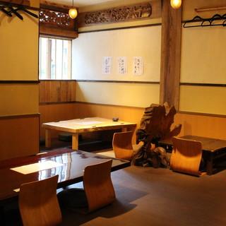 ◇和空間◇木の温もりを感じる店内で、ゆったりとお食事を