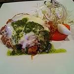 70687049 - イタリア風チキンカツ定食
