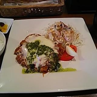 とんかつ K屋 - 料理写真:イタリア風チキンカツ定食