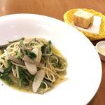 トラットリア フィオリトゥーラ - 季節野菜のペペロンチーノ