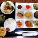 なんぽろ温泉 ハート&ハート - 料理写真:朝食(自分がとった料理)