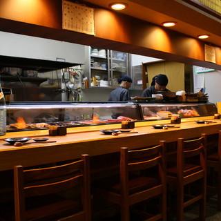 信条は、高級店品質の寿司を気軽に、リーズナブルに。
