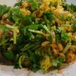 中華 深せん - 後半は…全部混ぜ混ぜして炒飯風な感じで頂きました。どんな食べ方しても美味しかった♡