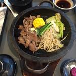 銀座ライオン - 特製味付けラムの石焼きジンギスカン定食