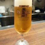 トラットリアイルティレーノ - 生ビール