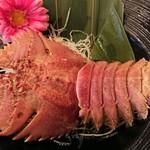 Shrimp Dining EBIZO kashiwa - 団扇海老のお姿はこんな感じ(^○^)
