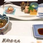 黒船ホテル - 料理写真:座付前八寸