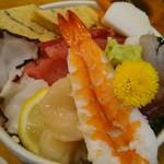 すし田村 - ランチのちらし寿司☆お腹いっぱい