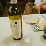 アレグロ コン ブリオ - ワインのことはさっぱり。でもそのままでも美味しいし、お料理とも合っていました。