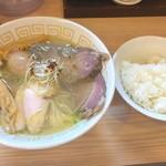70698139 - 特製塩らぁ麺 & ご飯