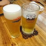 70698221 - まさかのビール2杯からのスタート!!